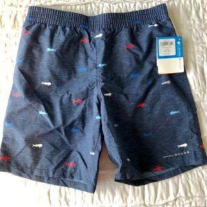 Boys Columbia Backcast Shorts Large